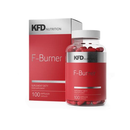 F-Burner sagorijevač masti u crvenoj posudici KFD