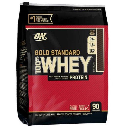Gold standard 100% Whey protein 4540g sladoled vanilija - Optimum Nutrition