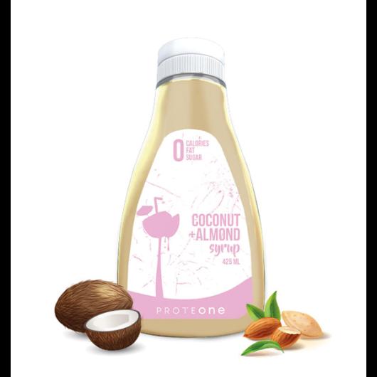 Preljev bez kalorija od kokosa i badema ProteONE u plastičnoj ambalaži od 425ml