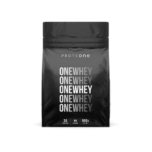ONEWHEY proteinI ProteONE u crnoj ambalaži od 900 grama