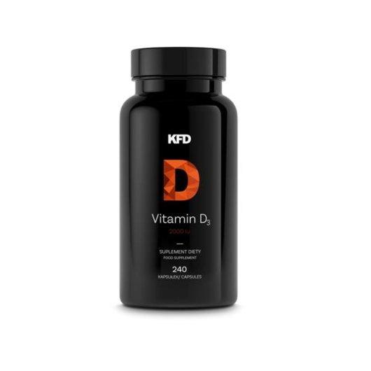 Vitamin D3 2000 - 240 tableta KFD nutrition