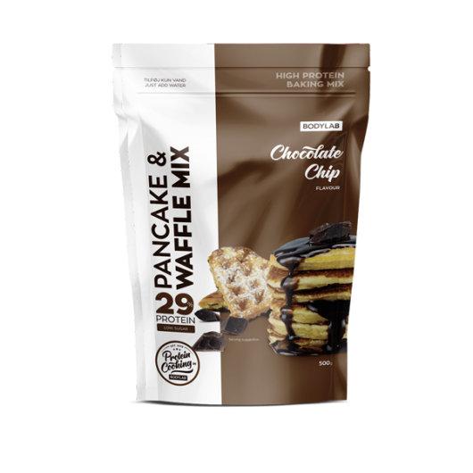 Proteinska smjesa za palačinke Bodylab okusa čokolade u smeđoj ambalaži od 500 grama