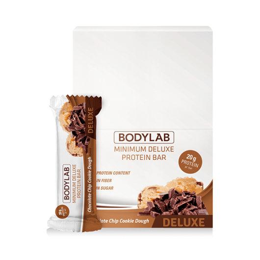 Proteinska čokoladica Bodylab Deluxe u pakiranju od 12 komada