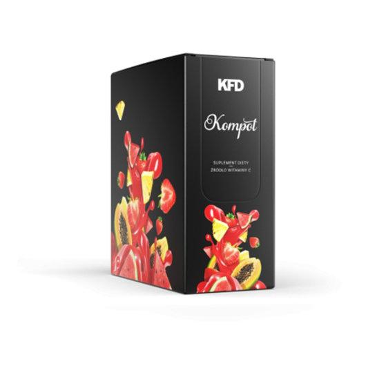 Instant voćni napitak BEZ kalorija s vitaminom C KFD u crnoj kutijici