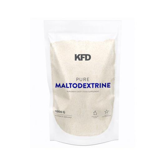 Maltodekstrin ugljikohidrati KFD Nutrition u bijeloj ambalaži od 1000 grama