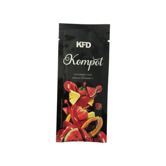 Instant voćni napitak BEZ kalorija s vitaminom C KFD u crnoj vrečici od
