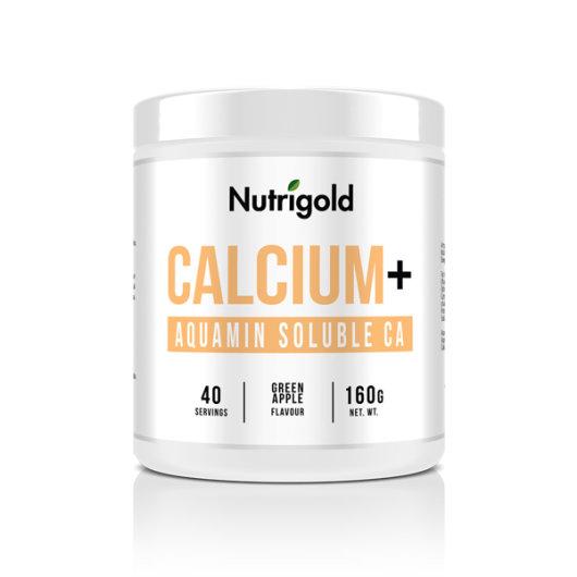 Kalcij u prahu Nutrigold u posudi od 160 grama