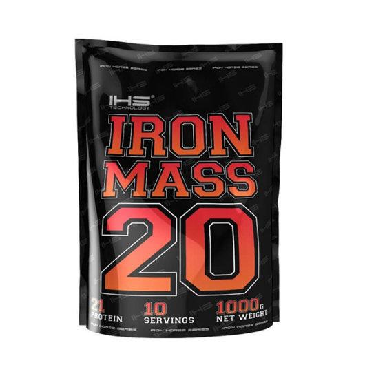 Gainer Iron Mass IHS u crnoj vrečici od 1000g
