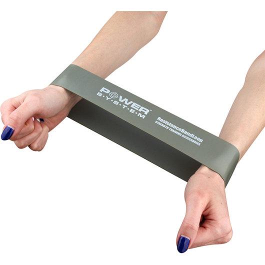 Mini Band guma za vježbanje siva - Power System