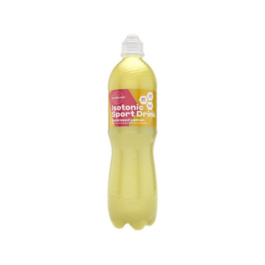 Isotonični napitak FCB Sweden žute boje u plastičnoj boci od 500ml