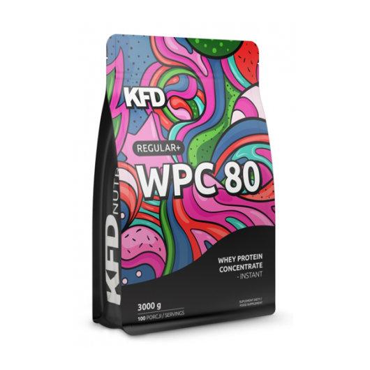 Proteini u prahu KFD u šarenoj ambalaži od 3000 grama