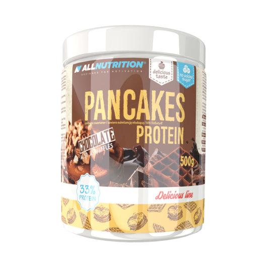Proteinska smjesa za palačinke All Nutrition u posudici od 500 grama