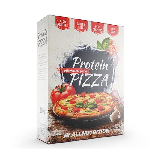 Proteinska smjesa za pizzu All Nutrition u kartonskoj ambalaži od 500 grama