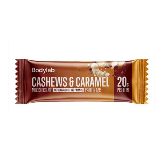 Proteinska čokoladica Cashew & Caramel 65g  - Bodylab