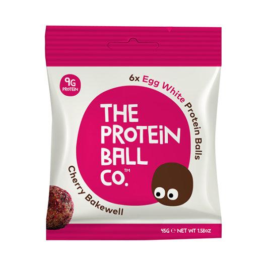 Proteinske kuglice u rozo-bijelom pakiranju od 45g.