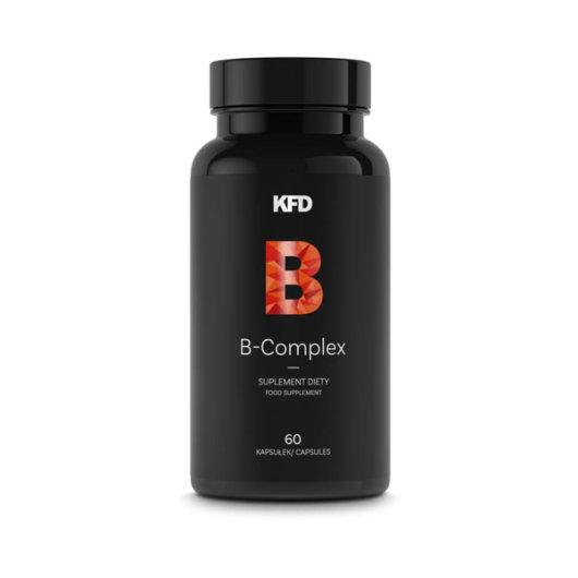 B kompleks vitamini KFD u plastičnoj crnoj ambalaži od 60 kapsula