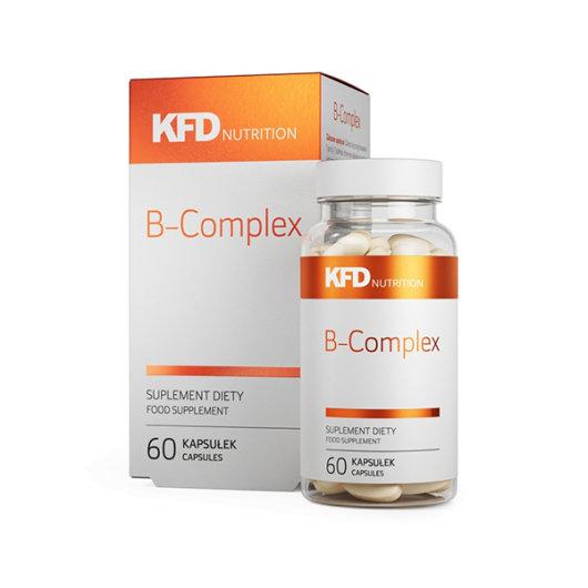 B kompleks vitamini KFD u plastičnoj ambalaži od 60 kapsula