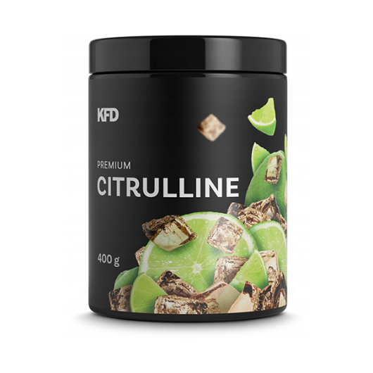 L-citrulin malat u crnoj posudici okusa cole i limete proizvođača KFD od 400 grama