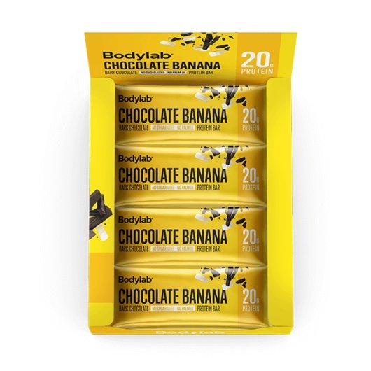 12 x Proteinska čokoladica Chocolate & Banana 55g - Bodylab