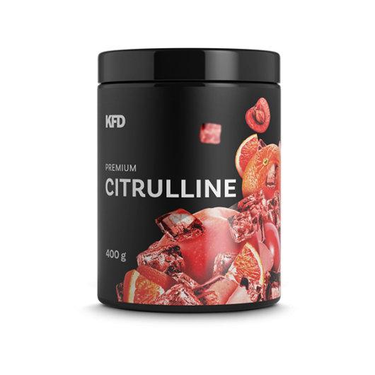 L-citrulin malat u crnoj posudici okusa naranče proizvođača KFD od 400 grama