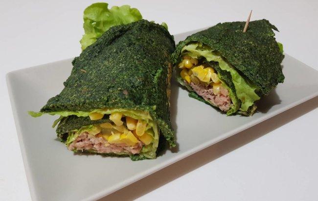 FIT recept koji je Popaj odobrio: Tortilja od špinata s tunom! Pogledajte recept!