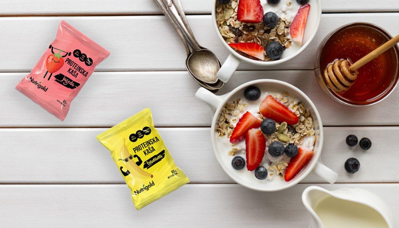 Proteinska zobena kaša za brz i jednostavan obrok!