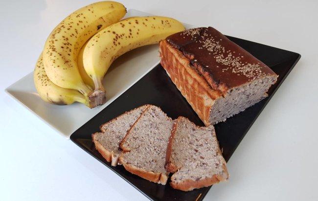 Proteinski BANANA BREAD s tajnim sastojkom, pogledaj na linku!