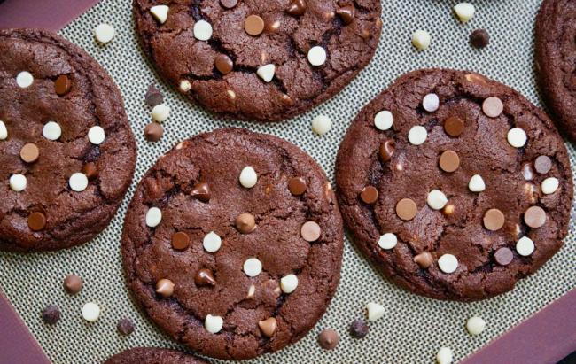 Trostruka čokoloada kao proteinski keksi, klik za recept!
