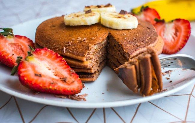 Slatka želja Recept za čokoladne proteinske palačinke