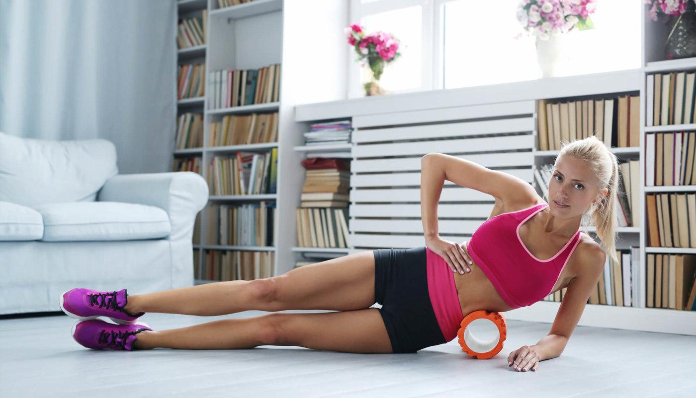 Masiranje na fitness rolleru jednostavno, a učinkovito!
