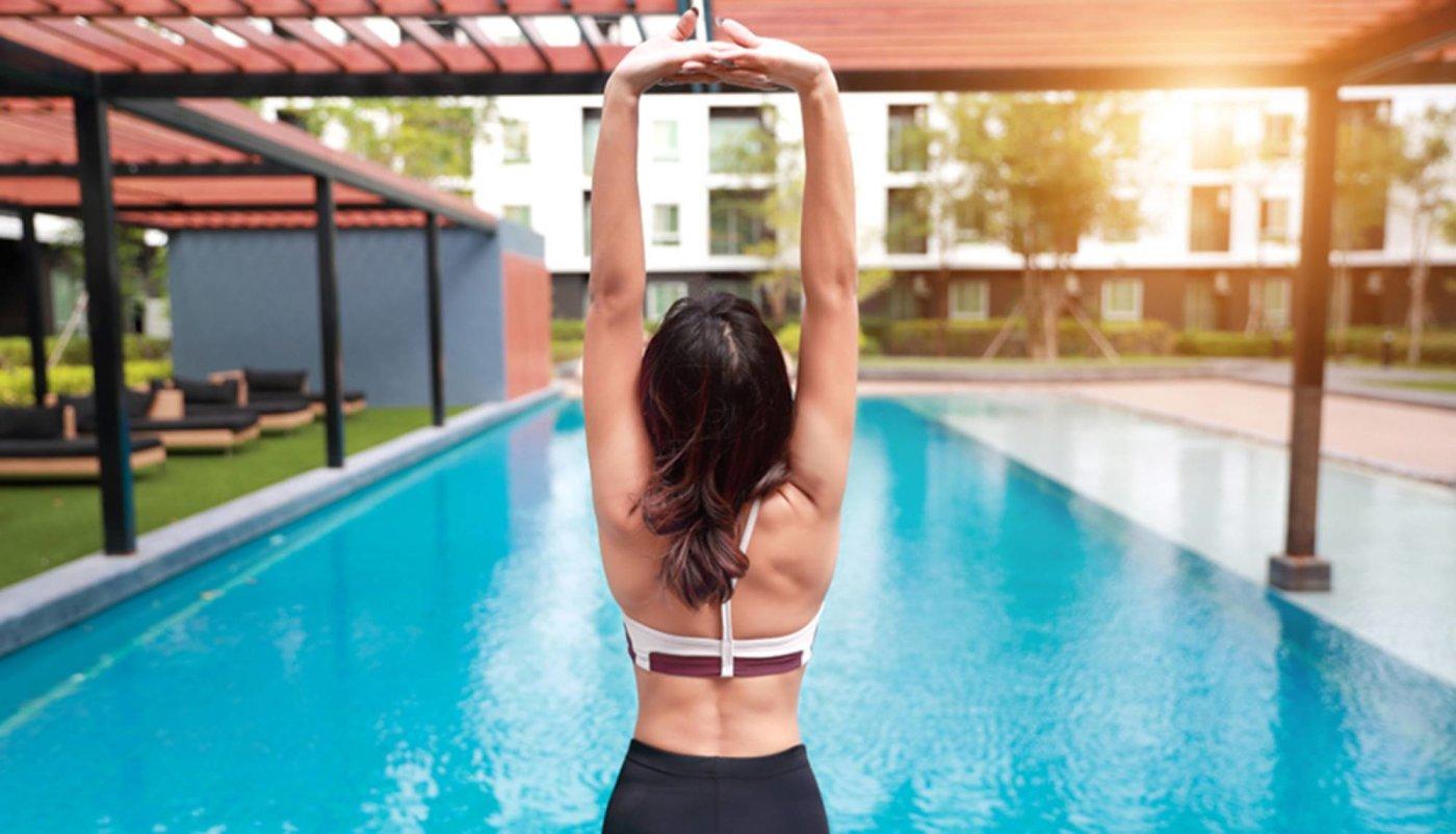 Trening na bazenu za FIT figuru cijelo ljeto!