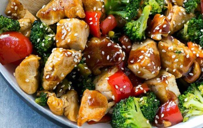 Piletina i povrće na brzaka za laganu večeru, njam!