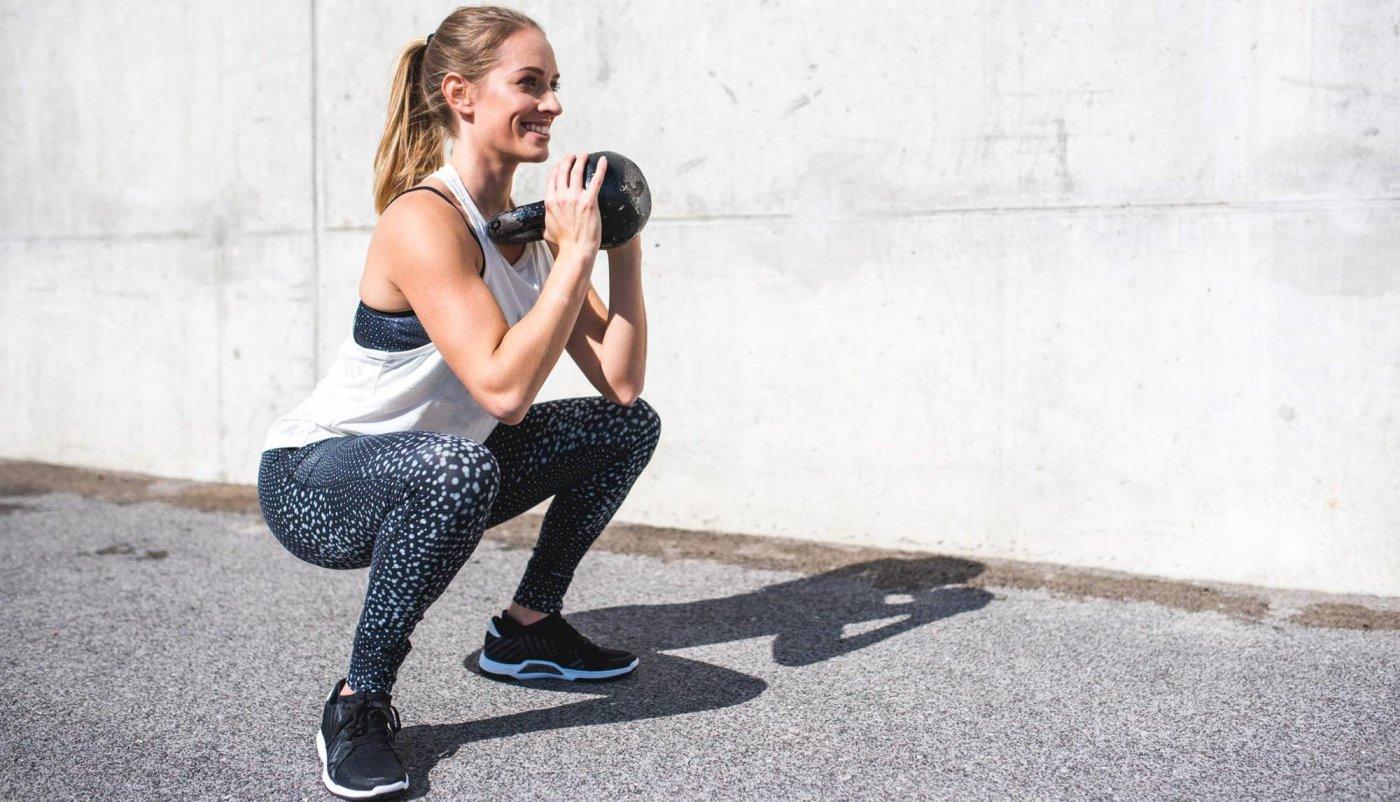 Trening s girjom 4 vježbe koje neće opteretiti vaša leđa
