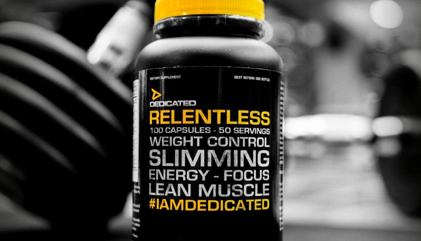 Dedicated izbacio Relentless u prodaju, njihov prvi fat burner!