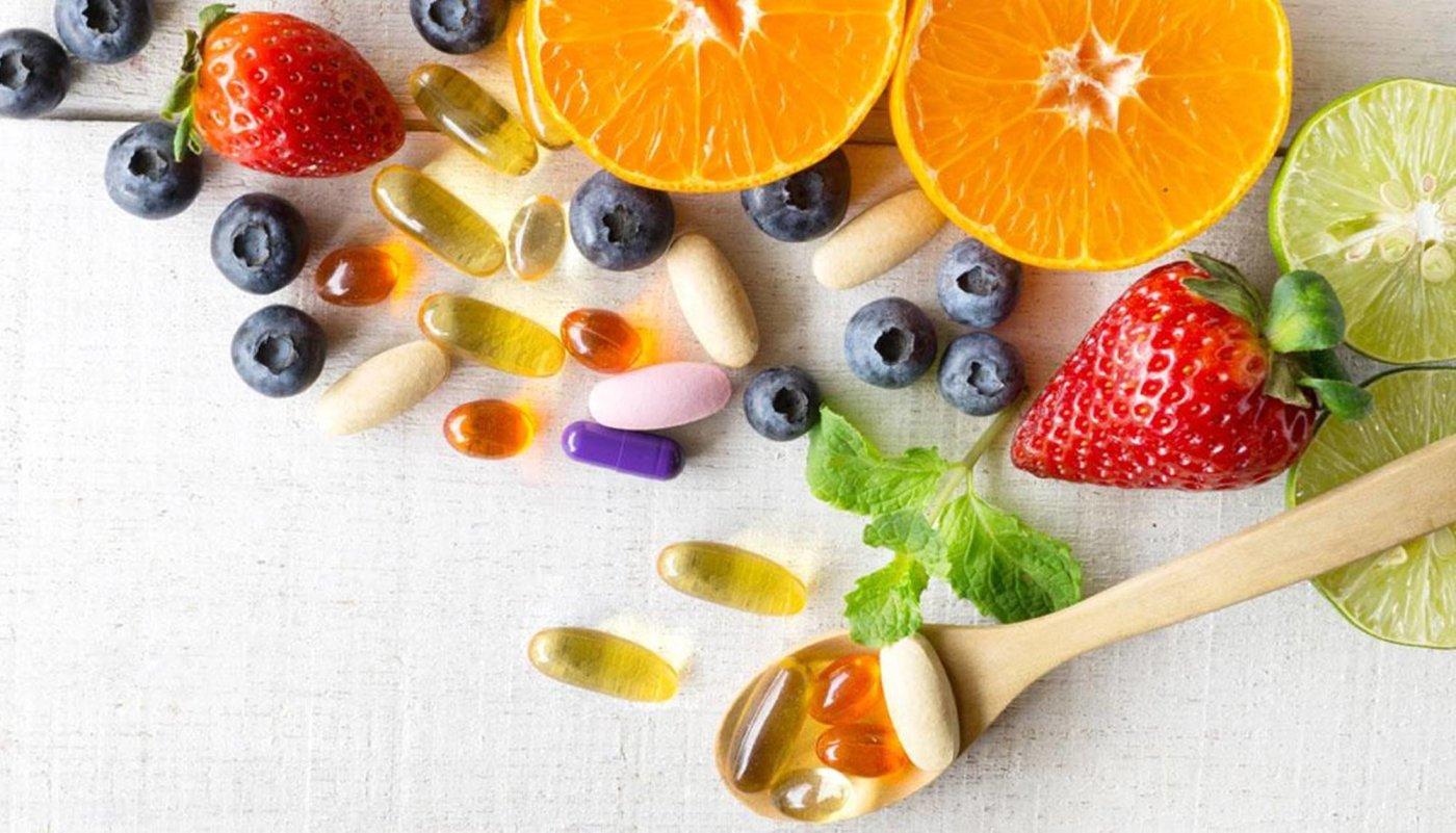 Voće i povrće, vitamini i minerali.