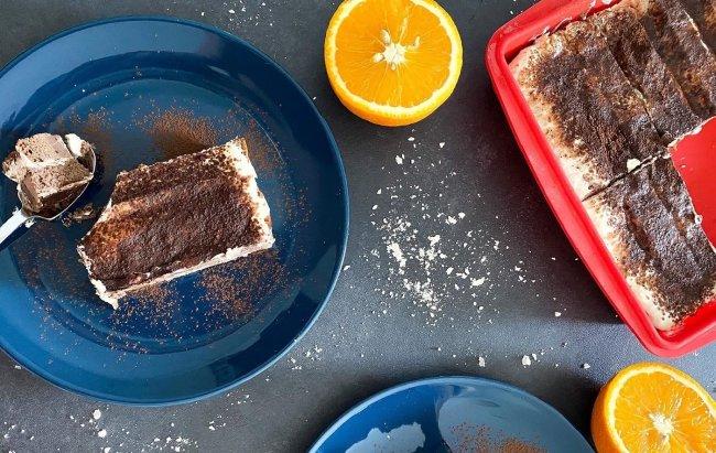 Osvježenje u kolaču: FIT tiramisu s narančom 🍊 Recept pogledajte klikom na link!