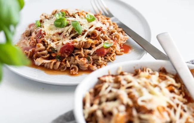 Ukusan i brz ručak pun proteina: Zapečena tjestenina s komadićima tune! Recept te čeka klikom na link.