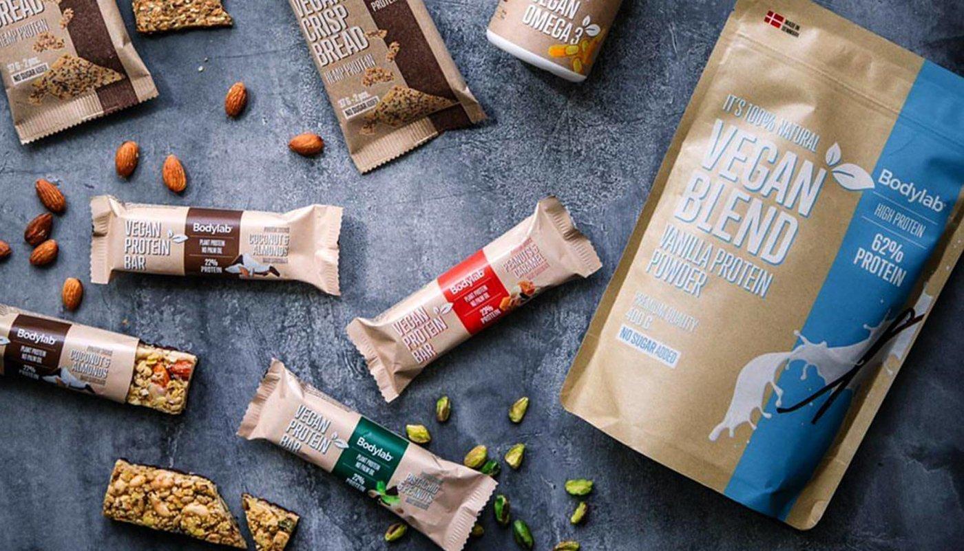 Od proteina do proteinskih čokoladica: Bodylab predstavio vegansku liniju proizvoda!