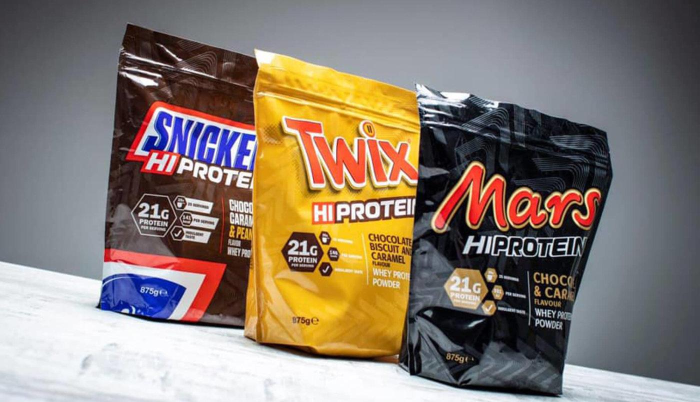 Recenzija Mars, Snickers i Twix proteina!