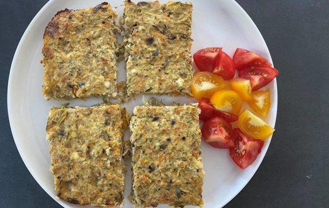 Ovo nije samo još jedan recept koji ima nizak udio kalorija, ovo je povrtni biskvit!