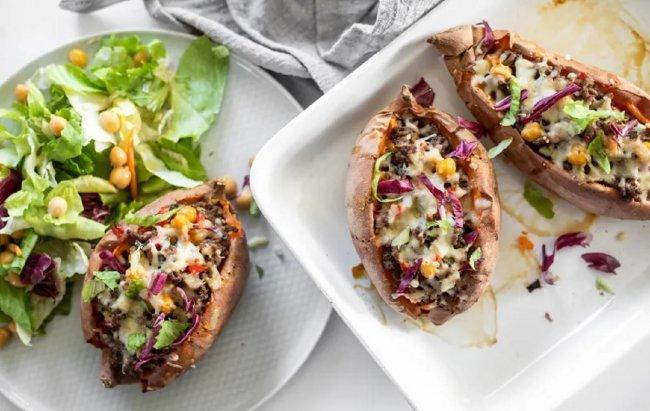 Puni smo #fit ideja za ručak: Punjeni batat s govedinom