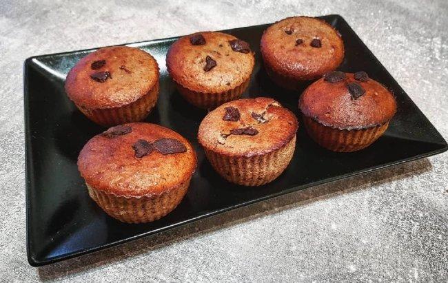 Čokoladni, domaći, ukusni i proteinski muffini!