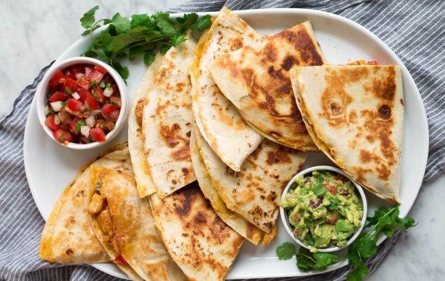 FIT ručak u fajita stilu - Quesadilla!