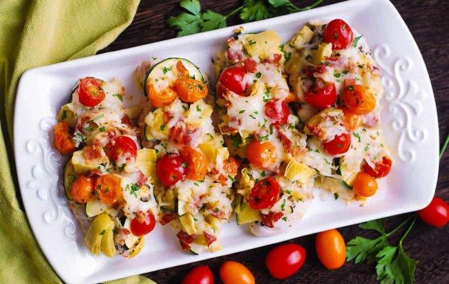 Piletina zapečena s povrćem, miriši na FIT večeru!