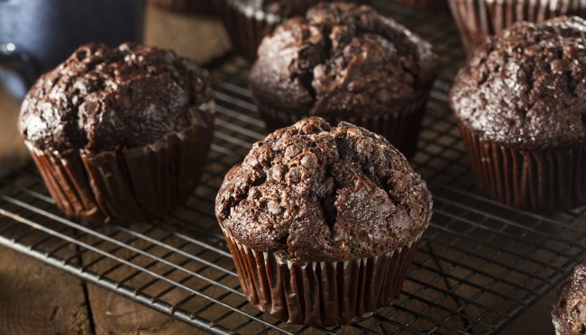 Čokoladni proteinski muffini bez brašna i rafiniranih šećera!